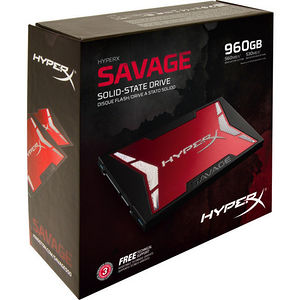 "Kingston SHSS3B7A/960G HyperX Savage 960 GB 2.5"" Internal Solid State Drive - SATA"