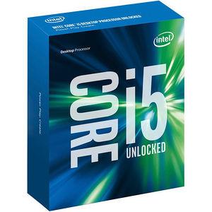Intel BX80662I56600K Core i5-6600K Processor 3.5GHz 6MB Cache LGA1151 Boxed Without Heatsink & Fan