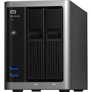 WD WDBDTB0120JSL-NESN My Book Pro 12TB dual-drive, high-speed Tbolt2, Mac OS X RAID storage