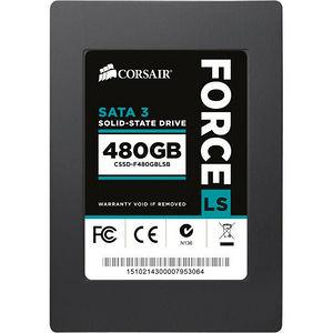 """Corsair CSSD-F480GBLSB Force LS 480 GB 2.5"""" Internal Solid State Drive - SATA"""