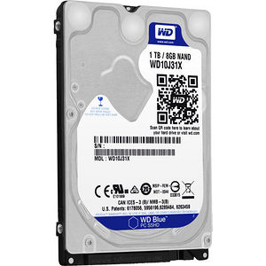 WD WD10J31X Blue SSHD 1TB Laptop SATA 6Gb