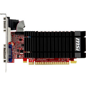MSI N610-2GD3H/LP GeForce GT 610 Graphic Card - 810 MHz Core - 2 GB DDR3 SDRAM - PCI-E 2.0 x16 - LP