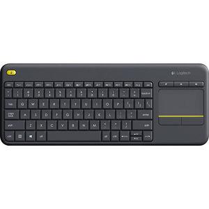 Logitech 920-007119 K400 Plus Touchpad Wireless Keyboard - Dark