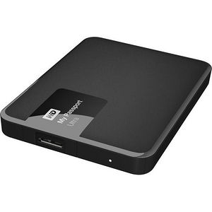 WD WDBWWM5000ABK-NESN My Passport Ultra 500GB USB 3.0 Secure portable drive - Classic Black