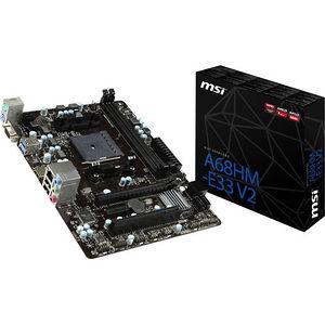 MSI A68HM-E33 V2 Desktop Motherboard - AMD Chipset - Socket FM2+