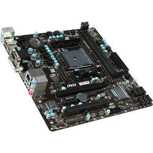 MSI A78M-E35 V2 Desktop Motherboard - AMD Chipset - Socket FM2+