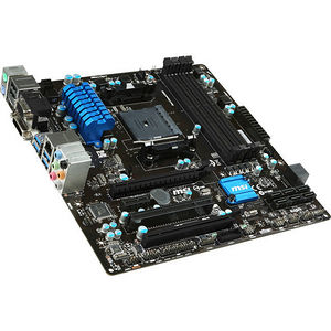 MSI A88XM-E45 V2 Desktop Motherboard - AMD Chipset - Socket FM2+