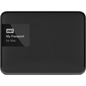 WD WDBJBS0010BSL-NESN My Passport for Mac 1 TB USB 3.0 secure portable drive with backup