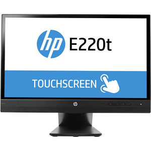 HP L4Q76A8#ABA EliteDisplay E220t 21.5-inch Touch Monitor (ENERGY STAR) Black