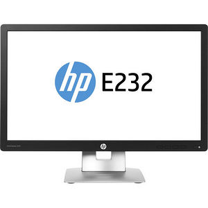 "HP N2Q02A8#ABA Business E232 23"" LED LCD Monitor - 16:9 - 7 ms"