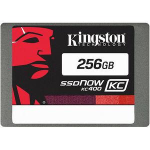 "Kingston SKC400S37/256G SSDNow KC400 256 GB 2.5"" Internal Solid State Drive - SATA"