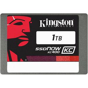 "Kingston SKC400S37/1T SSDNow KC400 1 TB 2.5"" Internal Solid State Drive - SATA"
