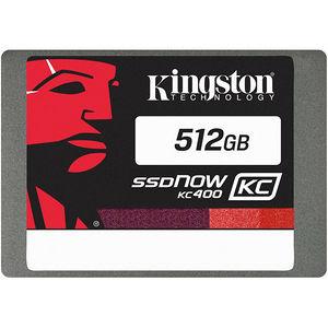 "Kingston SKC400S3B7A/512G SSDNow KC400 512 GB 2.5"" Internal Solid State Drive - SATA"