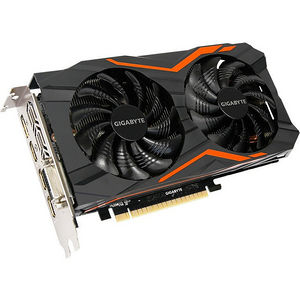 GIGABYTE GV-N105TG1 GAMING4GD GeForce GTX 1050 Ti Graphic Card - 1.39 GHz Core - 4 GB GDDR5