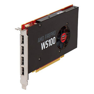 AMD 100-505974 FirePro W5100 Graphic Card - 4 GB GDDR5 - PCI-E 3.0 x16 - Single Slot