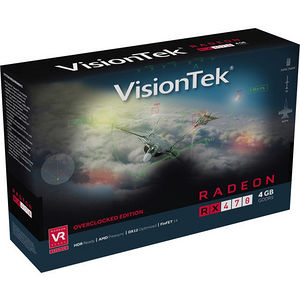 VisionTek 900905 Radeon RX 470 Graphic Card - 1.21 GHz Core - 4 GB GDDR5