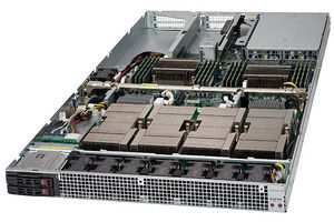 Supermicro SYS-1028GQ-TXR 1U Rack-mountable Server - 2 x Intel Xeon - 4 x Tesla P100 SXM2
