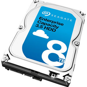 "Seagate ST8000NM0045 8 TB 3.5"" SATA 7200 RPM 256 MB Cache Enterprise Hard Drive"