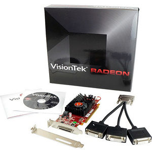 VisionTek 900344 Radeon HD 5450 Graphic Card - 512 MB DDR3 SDRAM - PCI-E 2.0 x16 - Low-profile