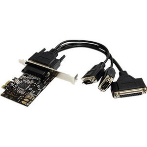 StarTech PEX2S1P553B 2S1P PCI Express Serial Parallel Combo Card