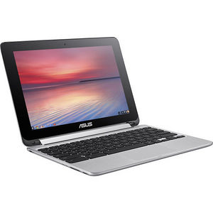 "ASUS C100PA-DB02 Chromebook Flip 10.1"" Touchscreen LCD 2 in 1 Notebook - Cortex A17 4 Core 1.80 GHz"