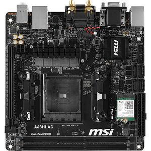 MSI A68HI AC Desktop Motherboard - AMD Chipset - Socket FM2+