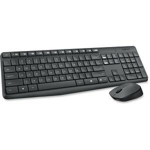 Logitech 920-007897 MK235 Wireless Keyboard & Mouse (English layout only; Grey)