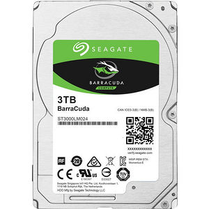 "Seagate ST3000LM024 Barracuda 3 TB 2.5"" Internal Hard Drive - SATA"