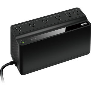 APC BE425M Back-UPS, 6 Outlets, 425VA, 255W, 120V
