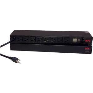 APC AP7900B Rack PDU, Switched, 1U, 15A, 100/120V, (8)5-15