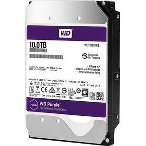 WD WD100PURZ Purple 10TB Surveillance Hard Drive