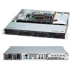 Supermicro CSE-813MTQ-R400CB SuperChassis SC813MTQ-R400CB 1U System Cabinet