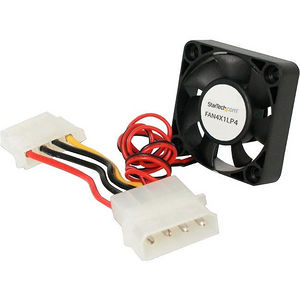 StarTech FAN4X1LP4 40x10mm Repl Dual Ball Bearing Computer Case Fan w/ LP4 Connector