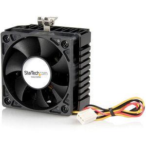 StarTech FAN370PRO 65x60x45mm Socket 7/370 CPU Cooler Fan w/ Heatsink & TX3 connector