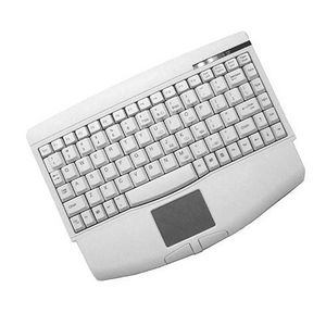 Adesso ACK-540UW Mini White Keyboard with Touchpad (USB)