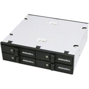 Addonics AESN4DA25 Snap-In Drive Enclosure Internal