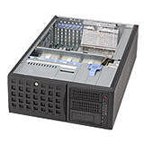 Supermicro CSE-745TQ-R800B 4U Chassis - Rack-mountable, Tower - Black