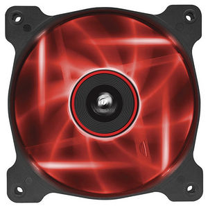 Corsair CO-9050016-RLED Air Series AF120 LED Red Quiet Edition High Airflow 120mm Fan - Twin Pack