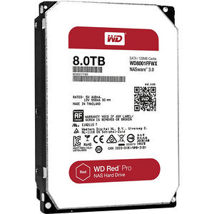 WD WD8001FFWX Red Pro 8TB NAS hard drive