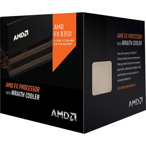 AMD FD8350FRHKHBX FX-8350 8 Core 4 GHz Processor - Socket AM3+