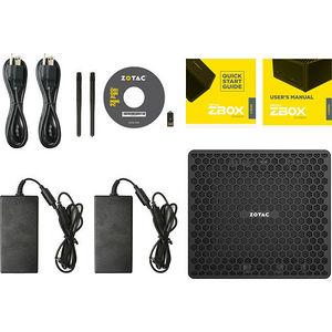 ZOTAC ZBOX-EN1080K-U ZBOX E MAGNUS VR Ready - Intel Core i7 i7-7700 3.60 GHz DDR4 SDRAM - Mini PC
