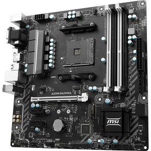 MSI A320M BAZOOKA Desktop Motherboard - AMD Chipset - Socket AM4