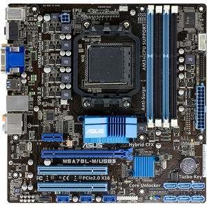 ASUS M5A78L-M/USB3 Desktop Motherboard - AMD Chipset - Socket AM3+