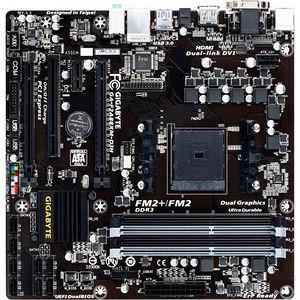 GIGABYTE GA-F2A88XM-D3H Desktop Motherboard - AMD Chipset - Socket FM2+