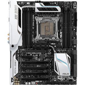 ASUS X99-DELUXE Desktop Motherboard - Intel Chipset - Socket LGA 2011-v3
