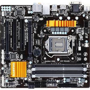 GIGABYTE GA-Z97M-D3H Desktop Motherboard - Intel Z97 Express Chipset - Socket H3 LGA-1150