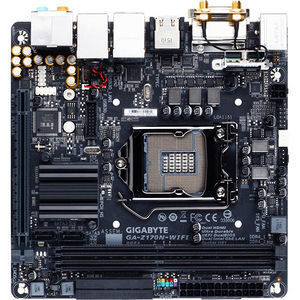 GIGABYTE GA-Z170N-WIFI Ultra Durable Desktop Motherboard - Intel Z170 Chipset - Socket H4 LGA-1151