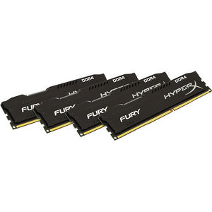 Kingston HX426C16FBK4/64 HyperX Fury 64GB DDR4 SDRAM Memory Module