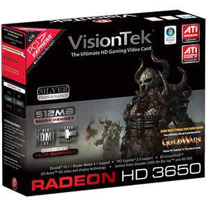 VisionTek 900232 Radeon HD 3650 Graphics Card