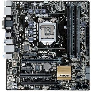 ASUS Q170M-C/CSM/C/SI Desktop Motherboard - Intel Chipset - Socket H4 LGA-1151 - 10 x Bulk Pack